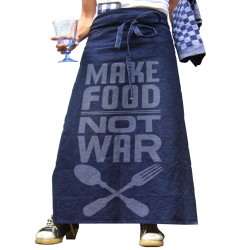 keukenschort sloof make food not war