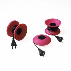cable disk fuchsia