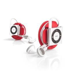 Dotz earbud wrap rood