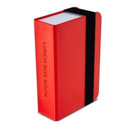 black+blum Lunchbox Book rood