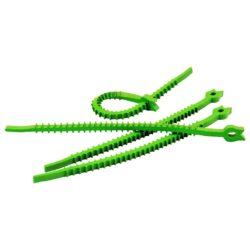 herbruikbare tie wraps Q-knot groen outdoor