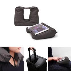 Bosign reiskussen Travel pillow grijs