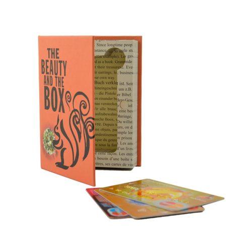 creditcard / pasjes opbergboekje Beauty and the box