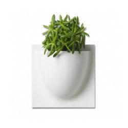 wandpot Vertiplants Mini 15 x 15 cm wit