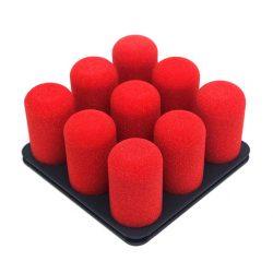 organiseer met Pinnns donkergrijs met rode pins