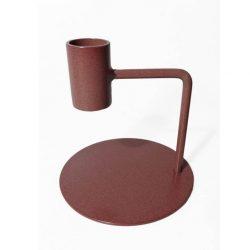 kandelaar Curve - 10 cm   bruin roze