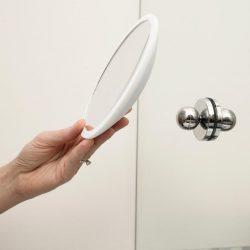Bosign make-up/ scheerspiegel Air Mirror wit PLUS | 10 x vergrotend