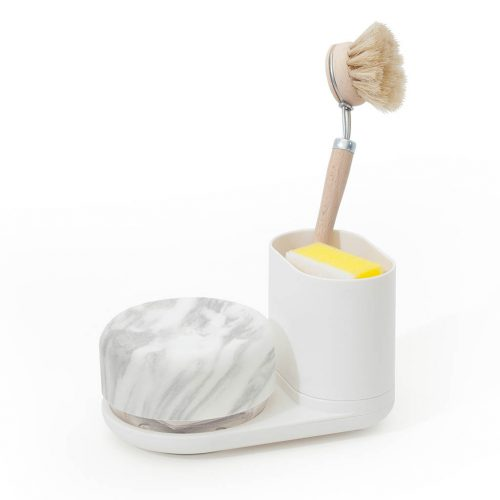 Bosign Do Dish caddy gootsteen organizer Compact wit / gemarmerd