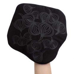 Bosign multifunctionele pannenlap met anti slip patroon   Potholder   zwart