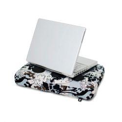 Bosign laptop kussen Surfpillow Botany - bruin, blauw, wit, zwart